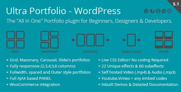 Ultra Portfolio - WordPress
