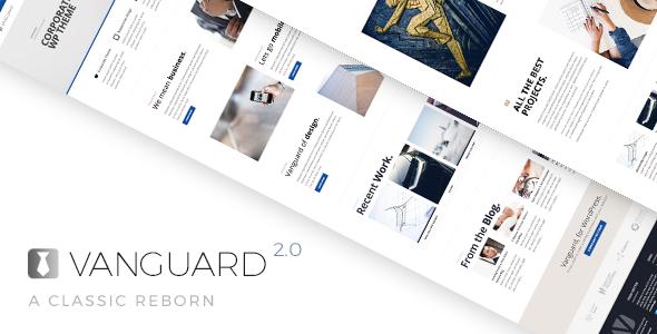 Vanguard: Business & Portfolio WordPress Theme