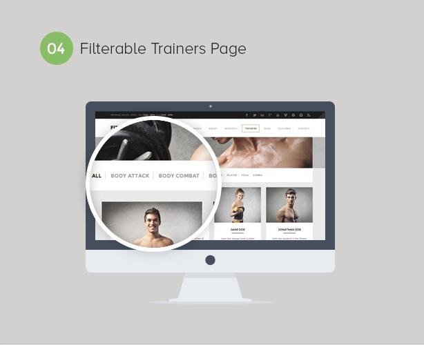 Gym WordPress Theme   Fitness - 5