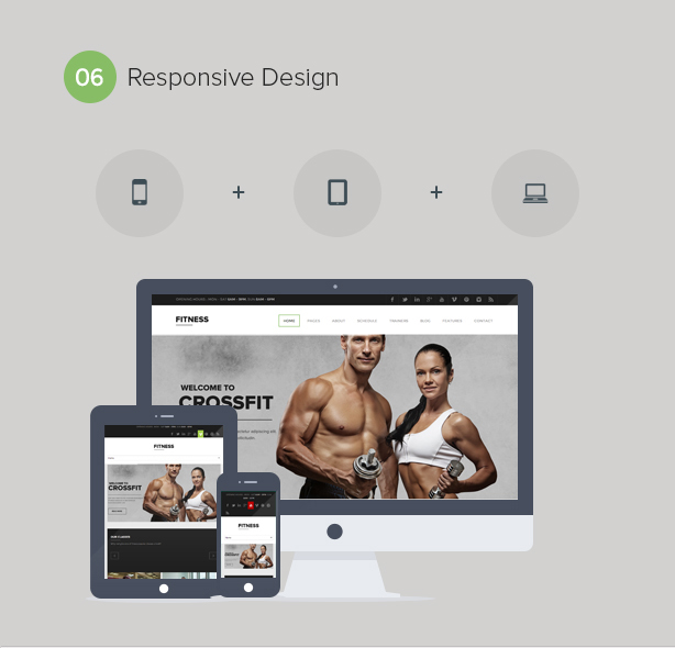 Gym WordPress Theme   Fitness - 7
