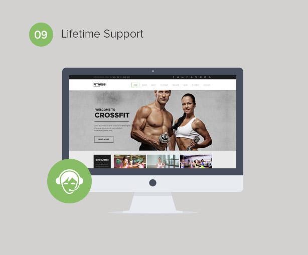 Gym WordPress Theme   Fitness - 10