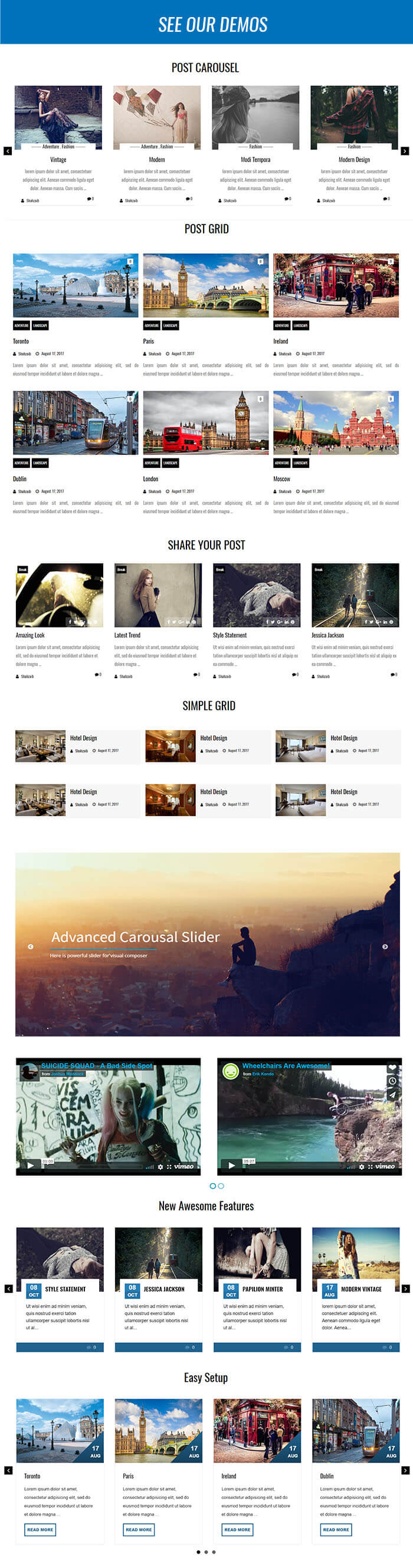 Ultimate Carousel For WPBakery Page Builder (formerly Visual Composer) - 6