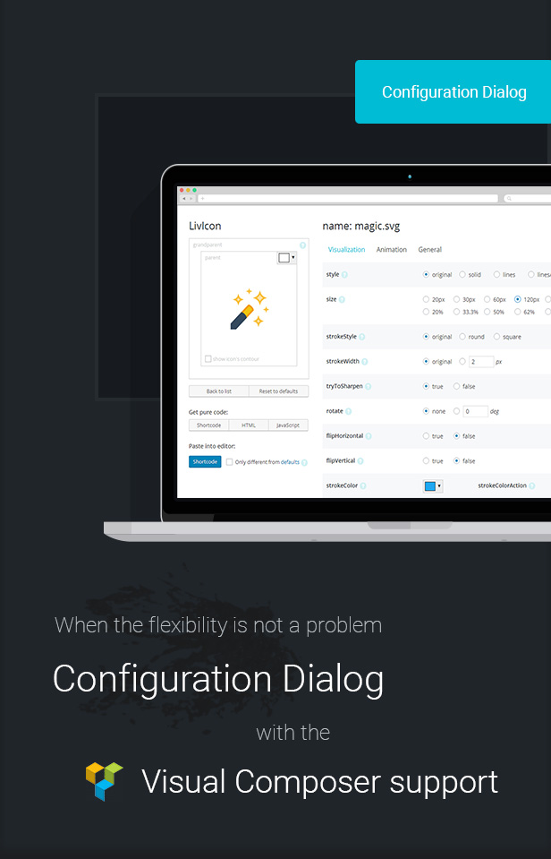 LivIcons Evolution for WordPress - The Next Generation of the Truly Animated Vector Icons - 7