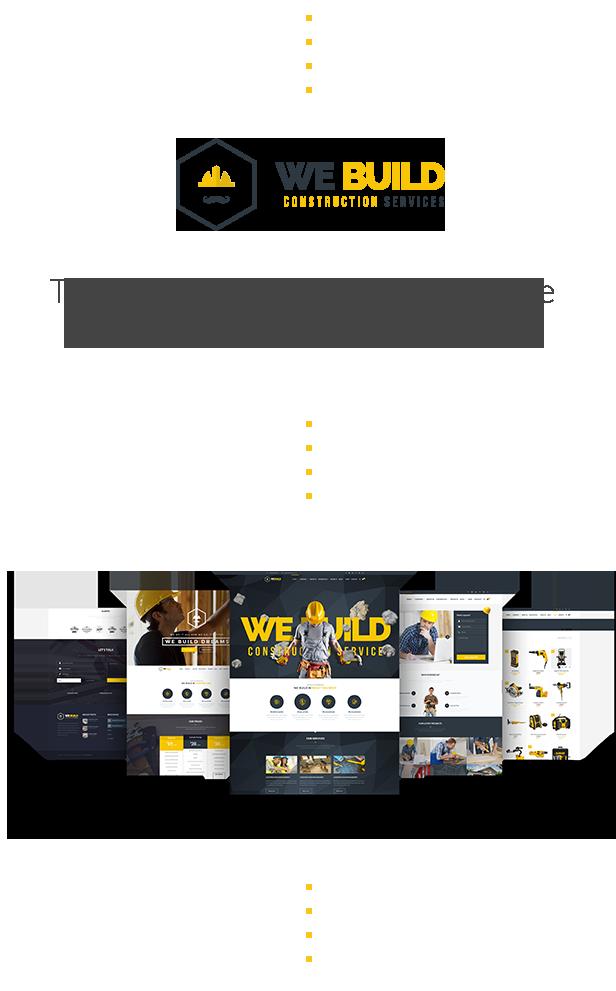 We Build - Construction WordPress Theme - 3