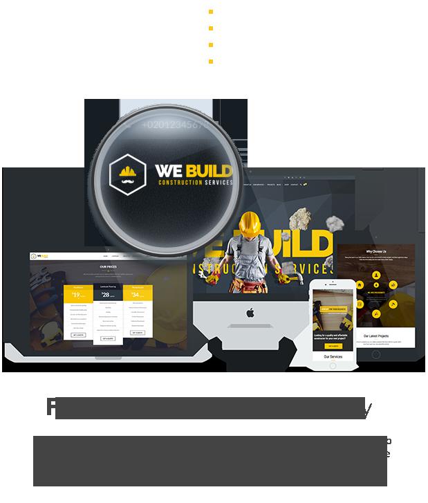 We Build - Construction WordPress Theme - 11