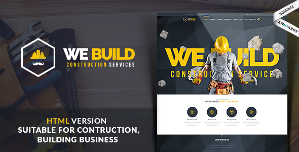 We Build - Construction WordPress Theme - 57