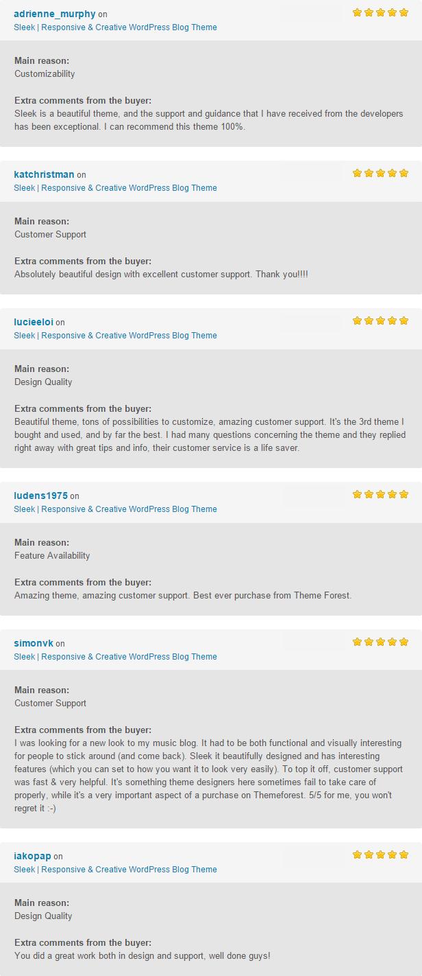 Sleek Reviews