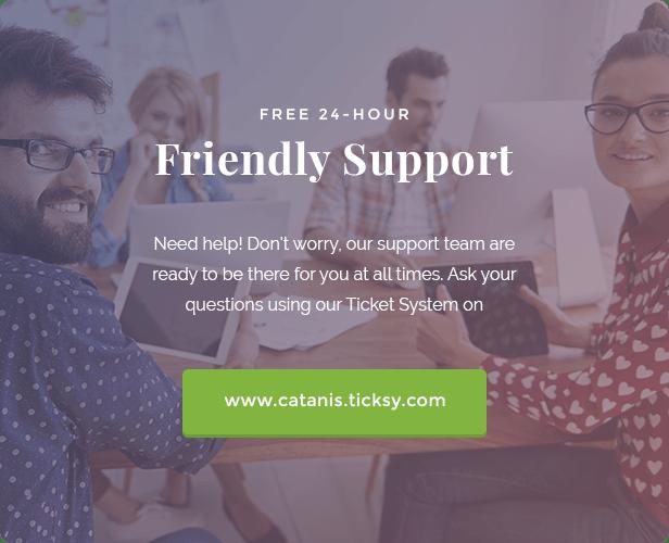 Catanis Support Site