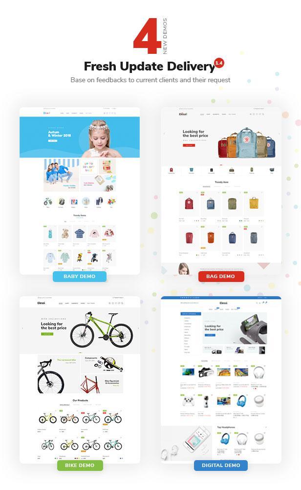 Elessi 2.0 - Responsive Shopify Theme - 5