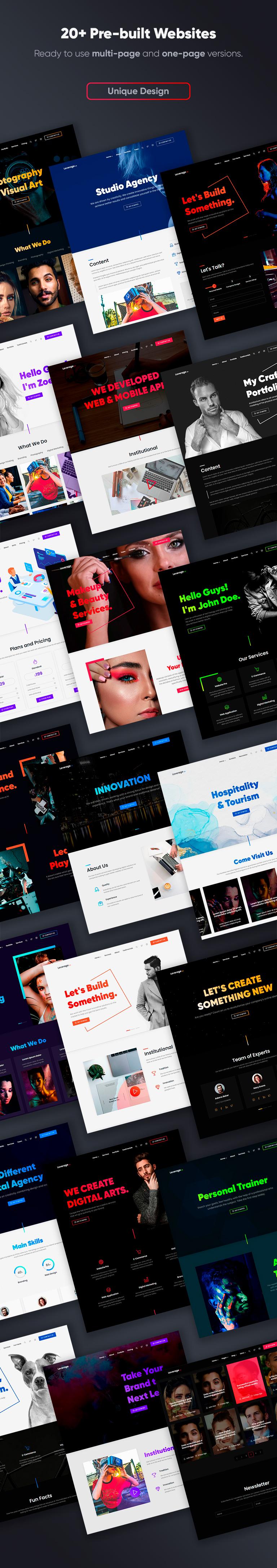Leverage - Creative Agency & Portfolio WordPress Theme - 4