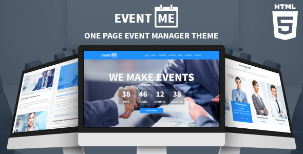 imEvent - Conference Landing Page HTML Template - 6