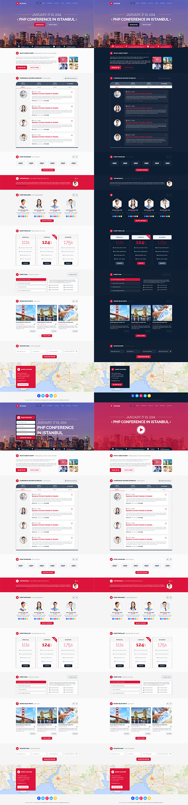imEvent - Conference Landing Page HTML Template - 5