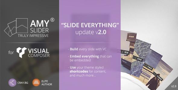 AMY Slider for Visual Composer