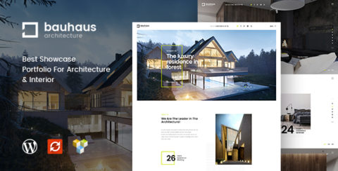 Bauhaus - Architecture & Interior WordPress Theme