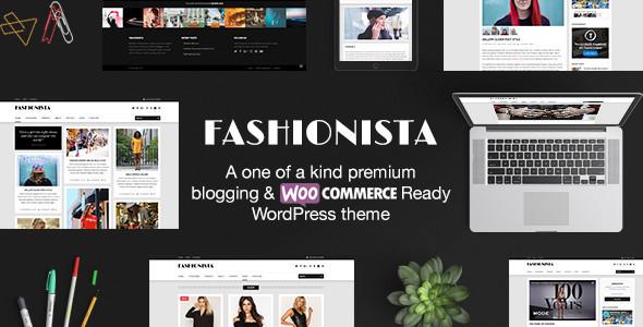 Fashionista - Responsive WordPress Blog & Shop Theme