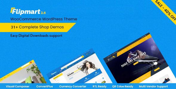Flipmart - Responsive Ecommerce WordPress