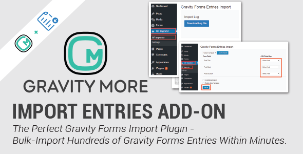 Import Entries for Gravity Forms