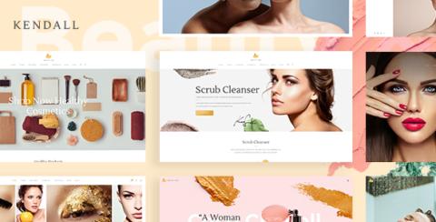 Kendall - Spa, Hair & Beauty Salon Theme