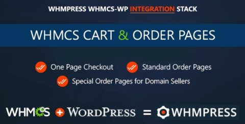 WHMCS Cart & Order Pages - One Page Checkout