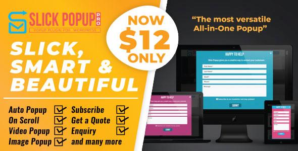 WordPress Popup Plugin - Slick Popup Pro