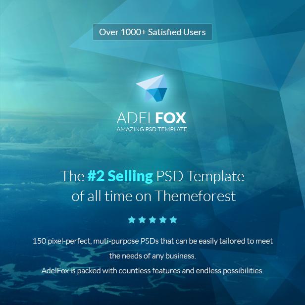 adelfox top 2 press psd template - themeforest