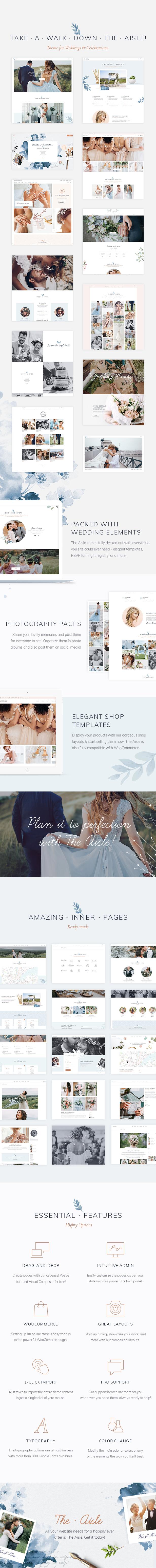 The Aisle - Elegant Wedding Theme - 3