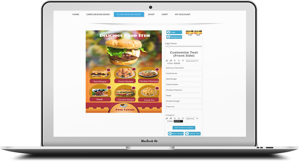 WooCommerce Business Card & Flyer Design - 17