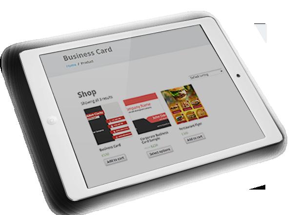 WooCommerce Business Card & Flyer Design - 19