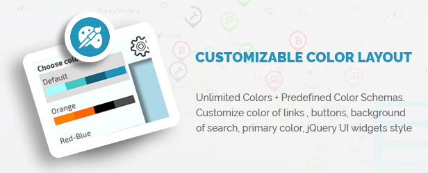 Customizable Color layout