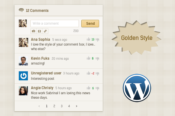 Comment System Plugin for WordPress & Ajax Comments - Comment Press - 3