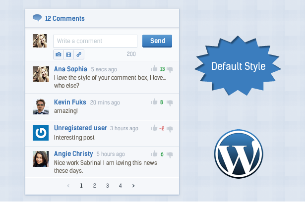 Comment System Plugin for WordPress & Ajax Comments - Comment Press - 2