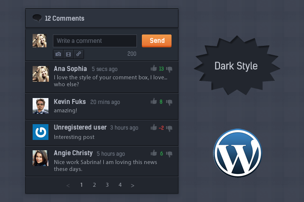 Comment System Plugin for WordPress & Ajax Comments - Comment Press - 5