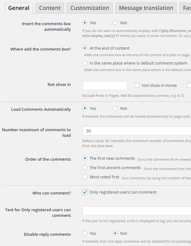 Comment System Plugin for WordPress & Ajax Comments - Comment Press - 7