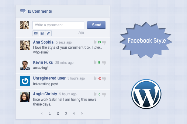 Comment System Plugin for WordPress & Ajax Comments - Comment Press - 4