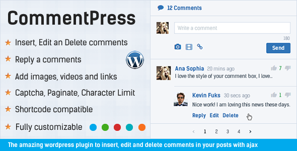 Comment System Plugin for WordPress & Ajax Comments - Comment Press - 12