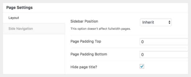 page-options