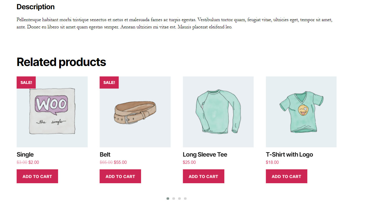 Custom related product by tags