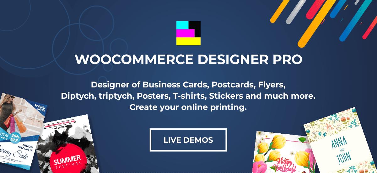 WooCommerce Designer Pro - 1