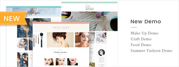 Fashion Blog Theme - Applique - 5