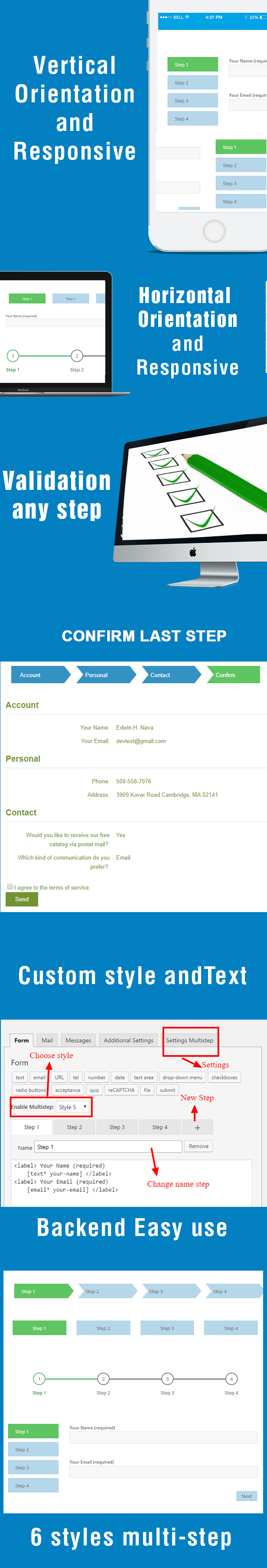 Contact Form 7 Multi-Step