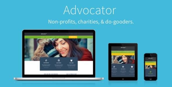 Advocator: Nonprofit & Charity Responsive WordPress Theme
