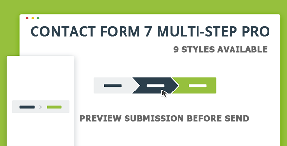 Contact Form 7 Multi-Step Pro - Preview Submission