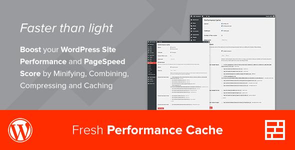 Fresh Performance Cache - WordPress Plugin