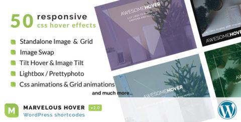 Marvelous Hover Effects | WordPress plugin