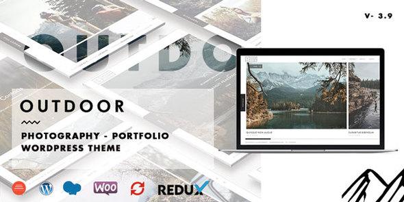 Outdoor - Creative Photography / Portfolio WordPress Theme