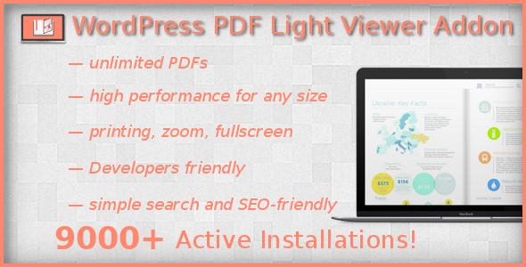 PDF Light Viewer PRO Addon