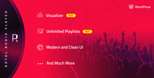 Royal Audio Player Wordpress Plugin