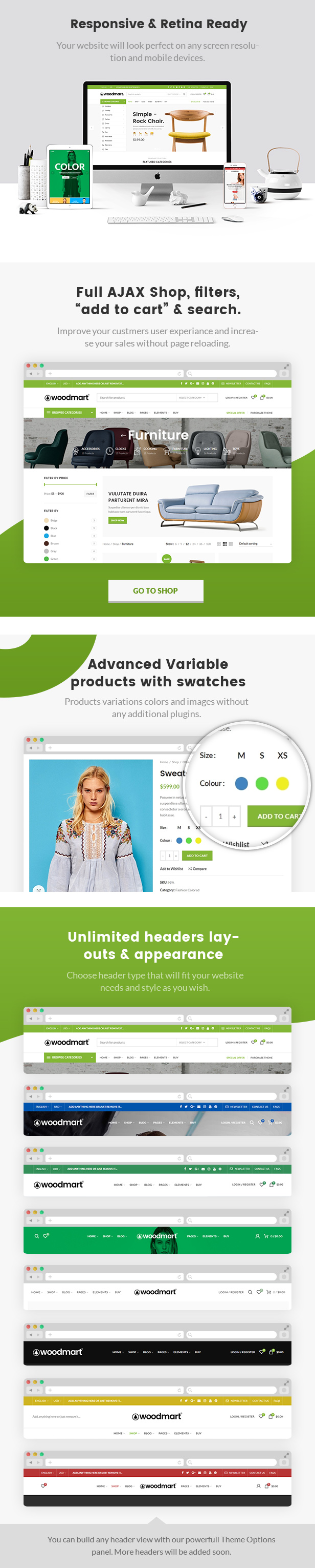 Woodmart - Responsive Shopify Template - 1