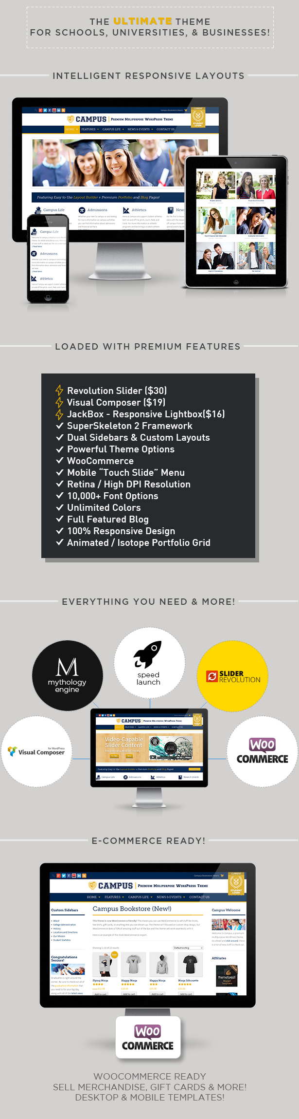 Campus   Multipurpose WordPress Theme - 1