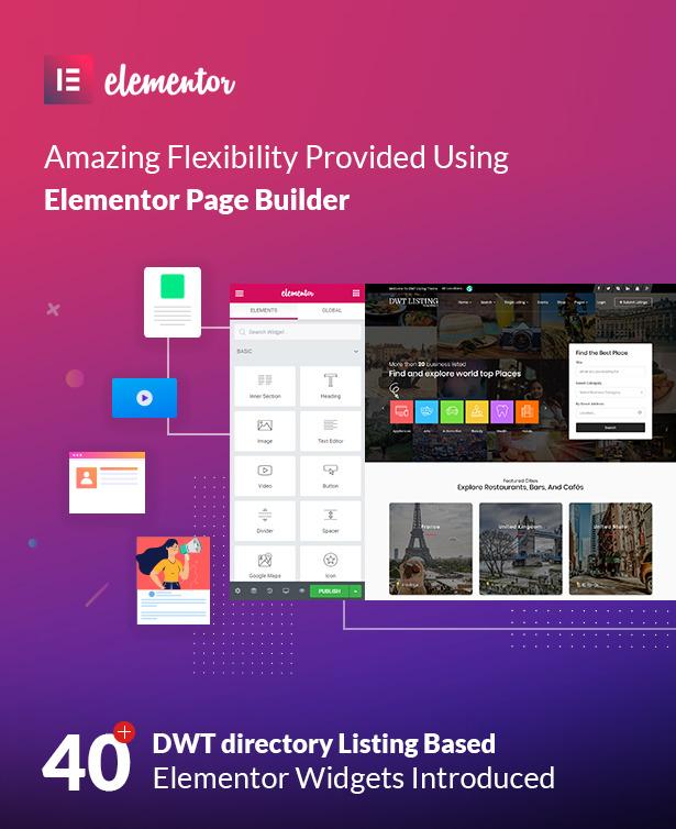 dwt listing elementor